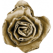 Cardboard Rolled Flower