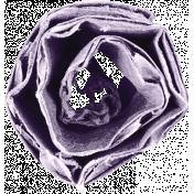 Lavendar Cardboard Rolled Flower