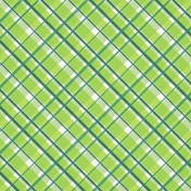 The Lucky One Green Plaid Paper