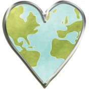 Globe Heart- Unshadowed