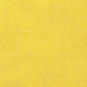 Sunshine and Lemons- Yellow & White Dot Paper