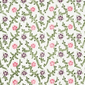Enchanted- Painted Flower Cardstock