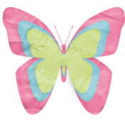 One Stop Bunting Shop- Flag Tissue Paper Butterfly