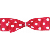 One Stop Bunting Shop- Red Polka Dot Bow