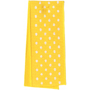 One Stop Bunting Shop- Yellow Polka Dot Folded Ribbon