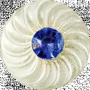 Blue Gem Button