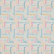 Hello Multi Language Word Paper