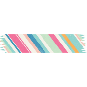 Hello Striped Washi Tape