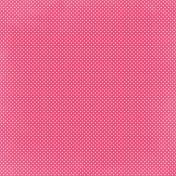 Hello Dark Pink Star Paper