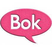 Hello Speech Bubble- Bok