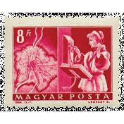 Hello- Stamp