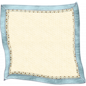 Oh Baby, Baby- Doodled Blue Blanket