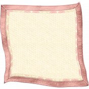 Oh Baby, Baby- Doodled Pink Blanket