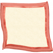 Oh Baby, Baby- Doodled Red Blanket
