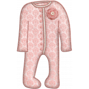 Oh Baby, Baby- Doodled Pink Sleeper 2