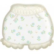 Oh Baby, Baby- Doodled Diaper Cover