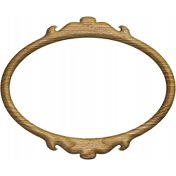 Oh Baby, Baby- Wood Oval Frame