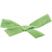 Oh Baby Green Bow