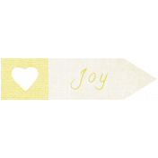 "Oh Baby ""Joy"" Word Art"