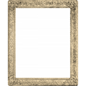 Oh Baby Ornate Rectangle Frame