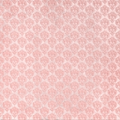Oh Baby, Baby- Pink Damask Fabric Paper