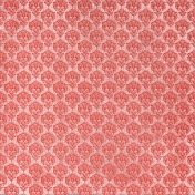 Oh Baby, Baby- Red Damask Fabric Paper