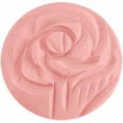 Oh Baby Pink Rose Button