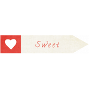 "Oh Baby ""Sweet"" Word Art"