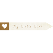 "Oh Baby ""Little Love"" Word Art"