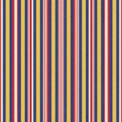 Independence Vertical Striped Paper