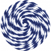 Independence- Blue Twine Swirl
