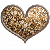 Many Thanks- Heart Brad 2