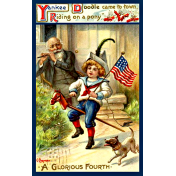 Independence- Yankee Doodle Postcard