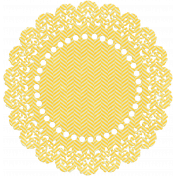 Independence- Yellow Doily