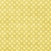 Sunshine & Lemons Mini- Peach Polka Dot Paper