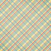 Summer Fields Plaid Paper