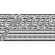 Summer Fields Metal Word Art- Grow