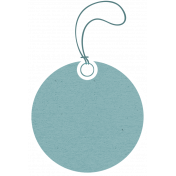 Summer Fields- Teal Tag