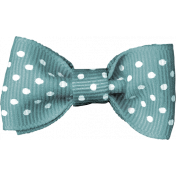 Summer Fields Teal Bow