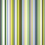Pond Life- Green Striped Paper