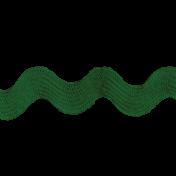 Pond Life- Green Ric Rac