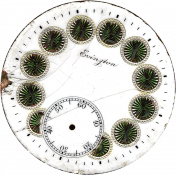Pond Life- Clock Face