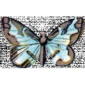 Garden Party- Blue Butterfly 2