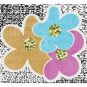 Garden Party- Flower Cluster Doodle