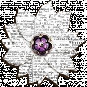 Garden Party- Newspaper Flower