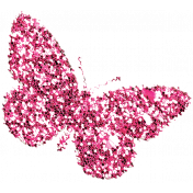 Garden Party- Pink Butterfly