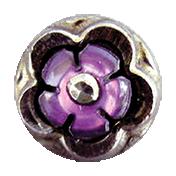 Garden Party- Purple Button