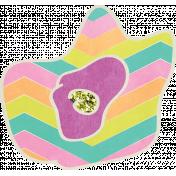 Garden Party- Purple Flower Doodle