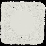 Garden Party- White Doily
