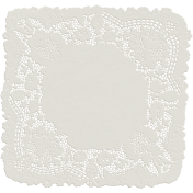 Garden Party- White Doily